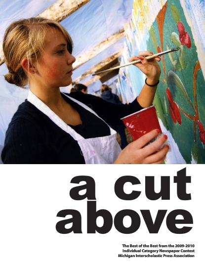2010 A Cut Above Newspaper Cover